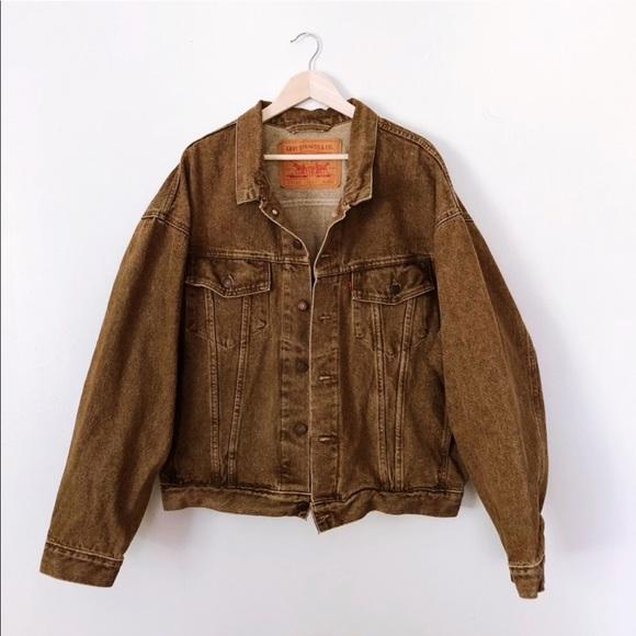 4108f1a4 Levi's Jackets & Coats | Vintage Levis Mens Denim Jacket | Poshmark
